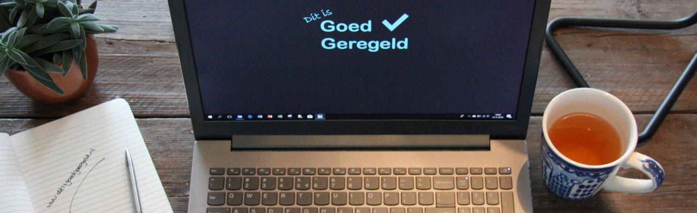 Ditisgoedgeregeld.nl